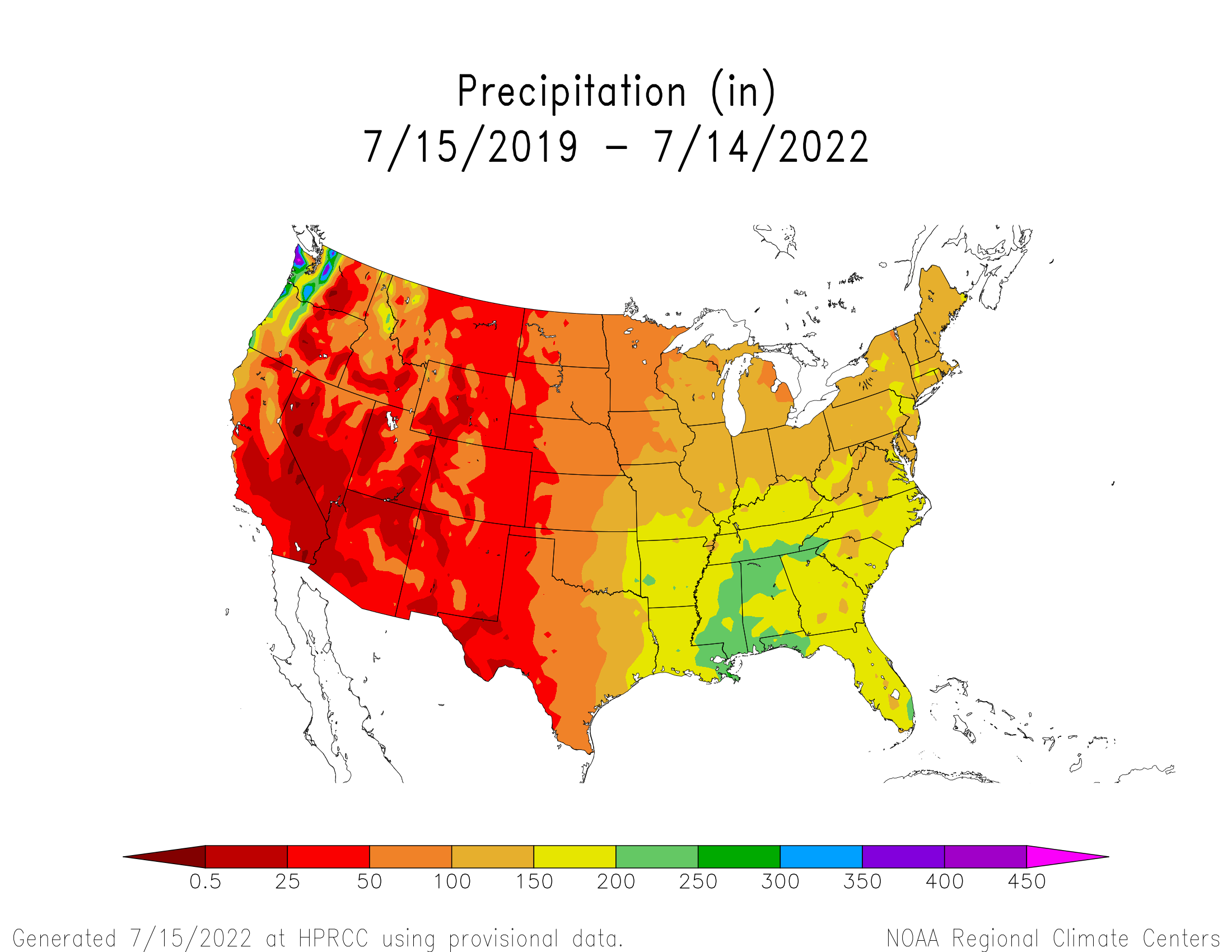 3-year Precipitation
