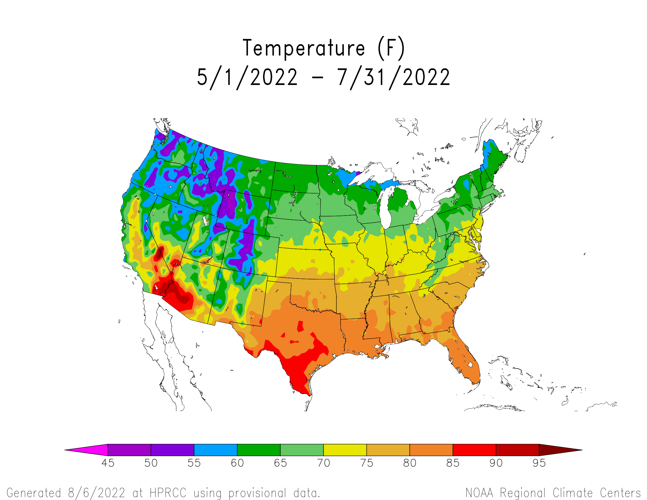 Image Result For Usa Average Low Annual Temperature Map Maps US - Average temp map us