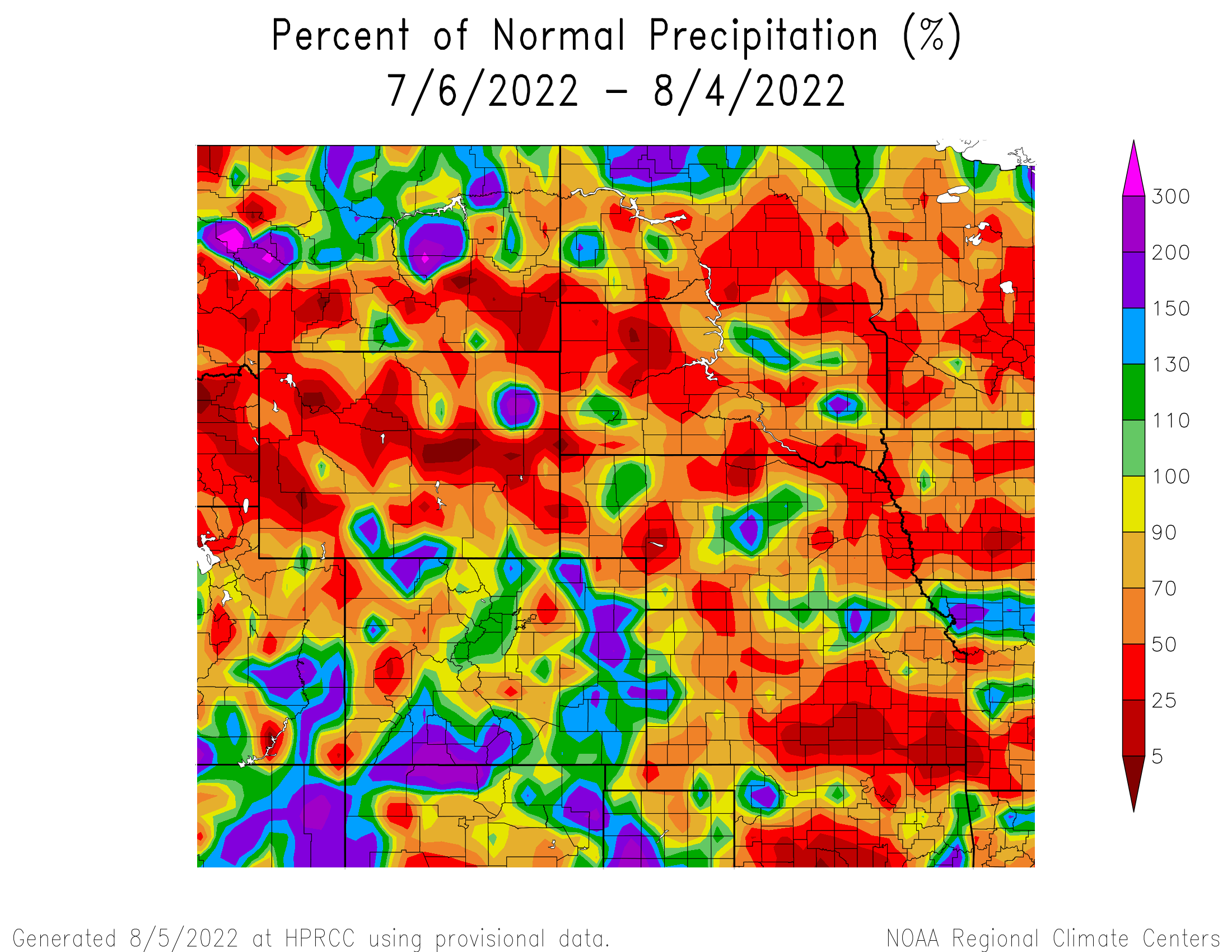 30-day Precipitation Anomaly
