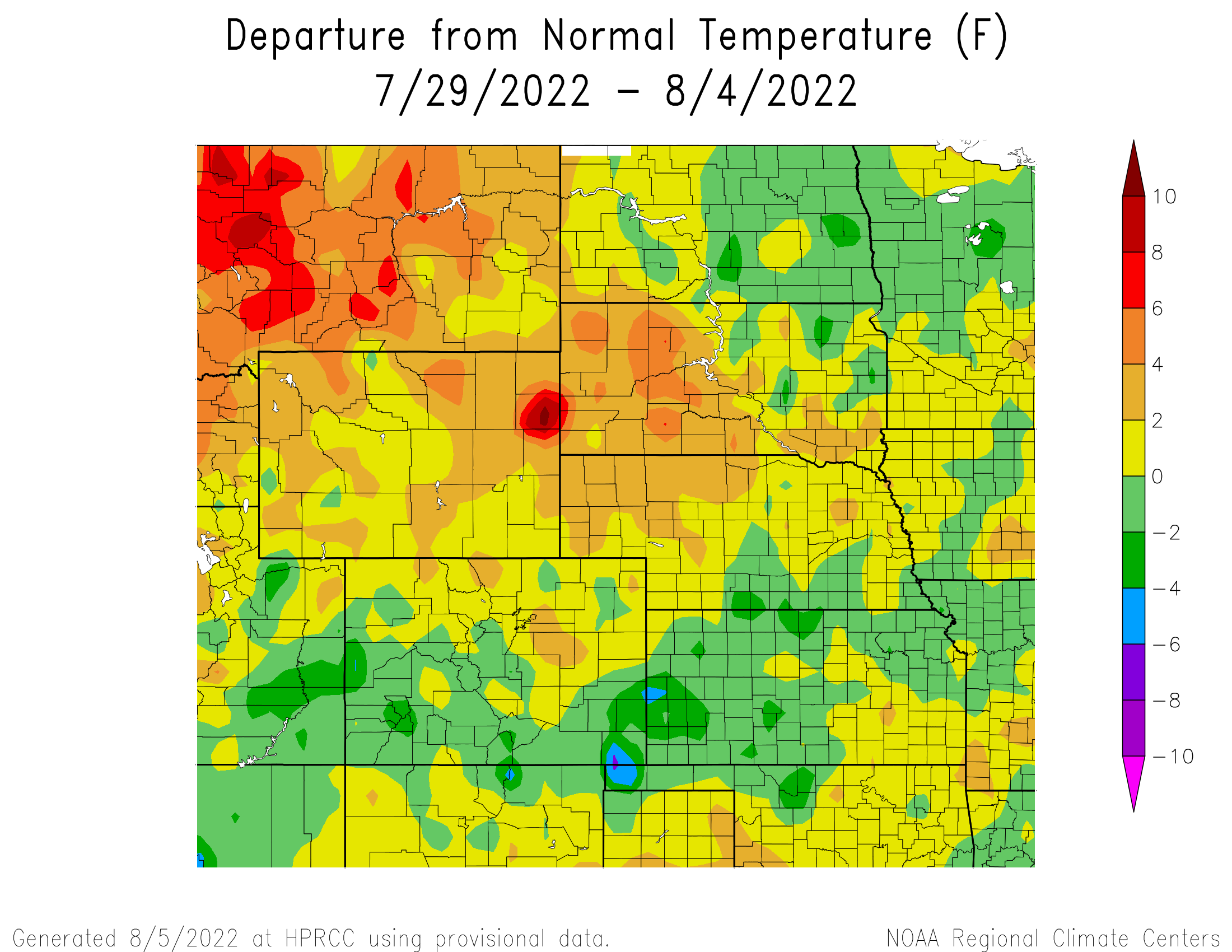 Current Climate Summary Map