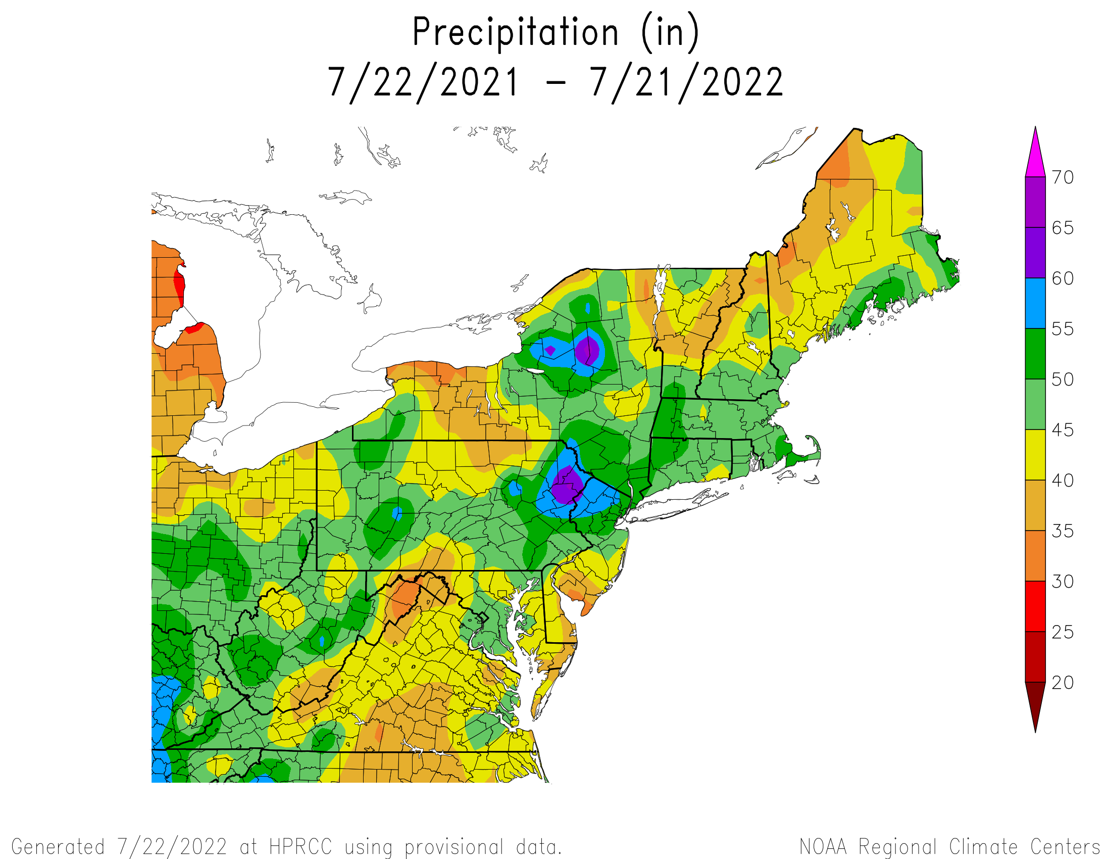 12-Month Total Precipitation
