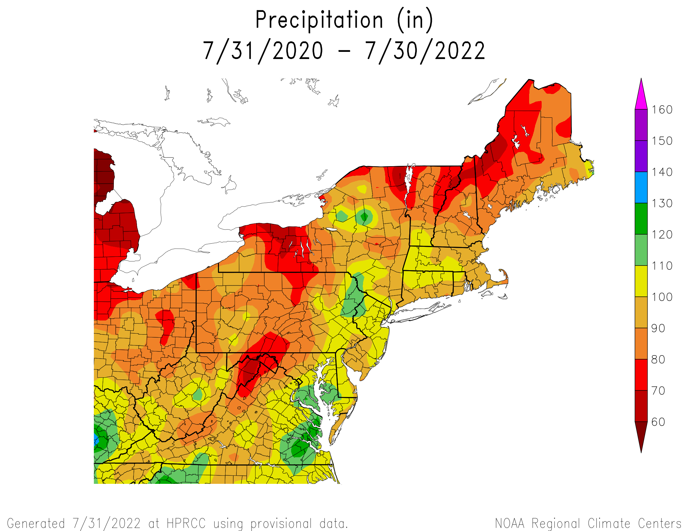 24-Month Total Precipitation