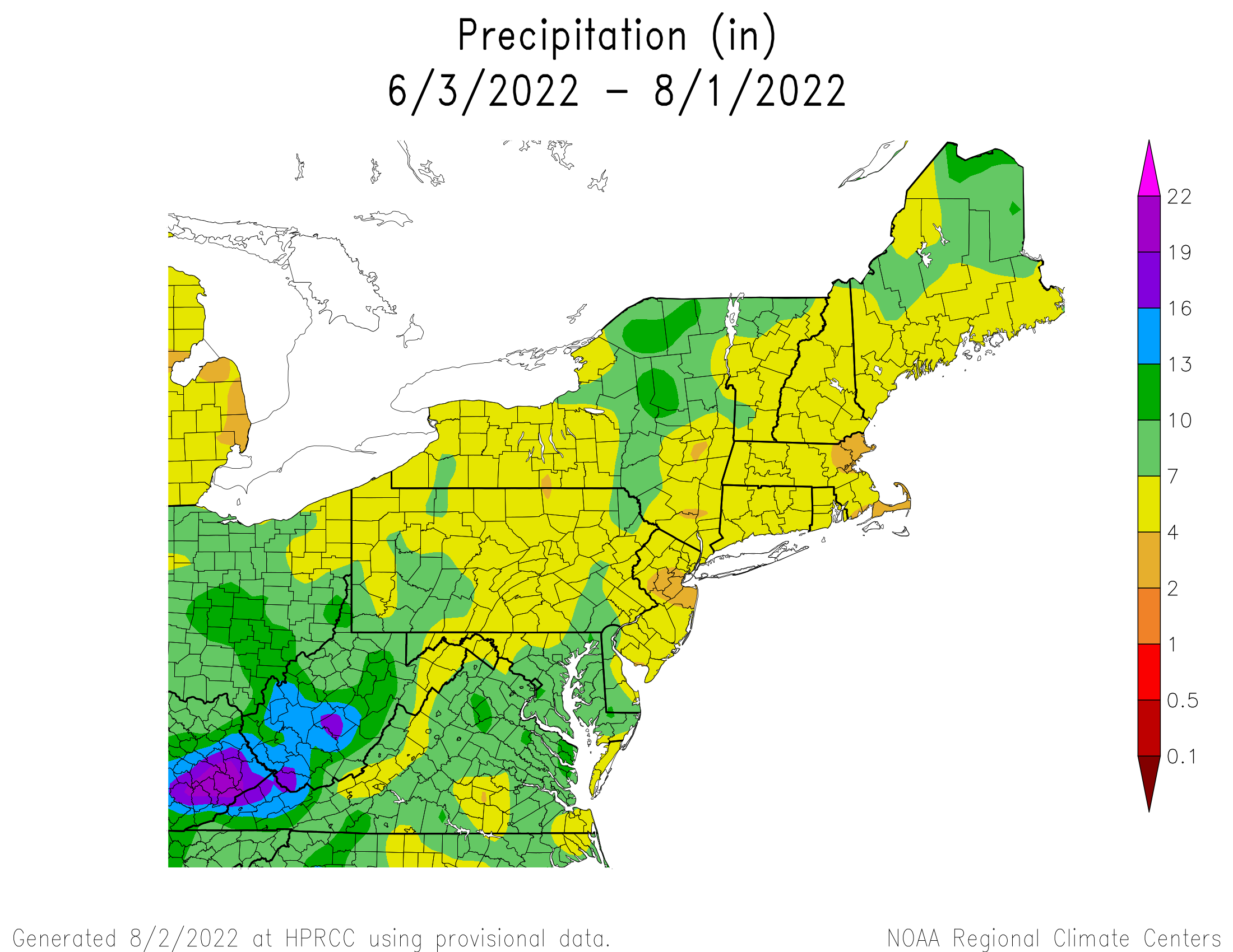 60-Day Total Precipitation
