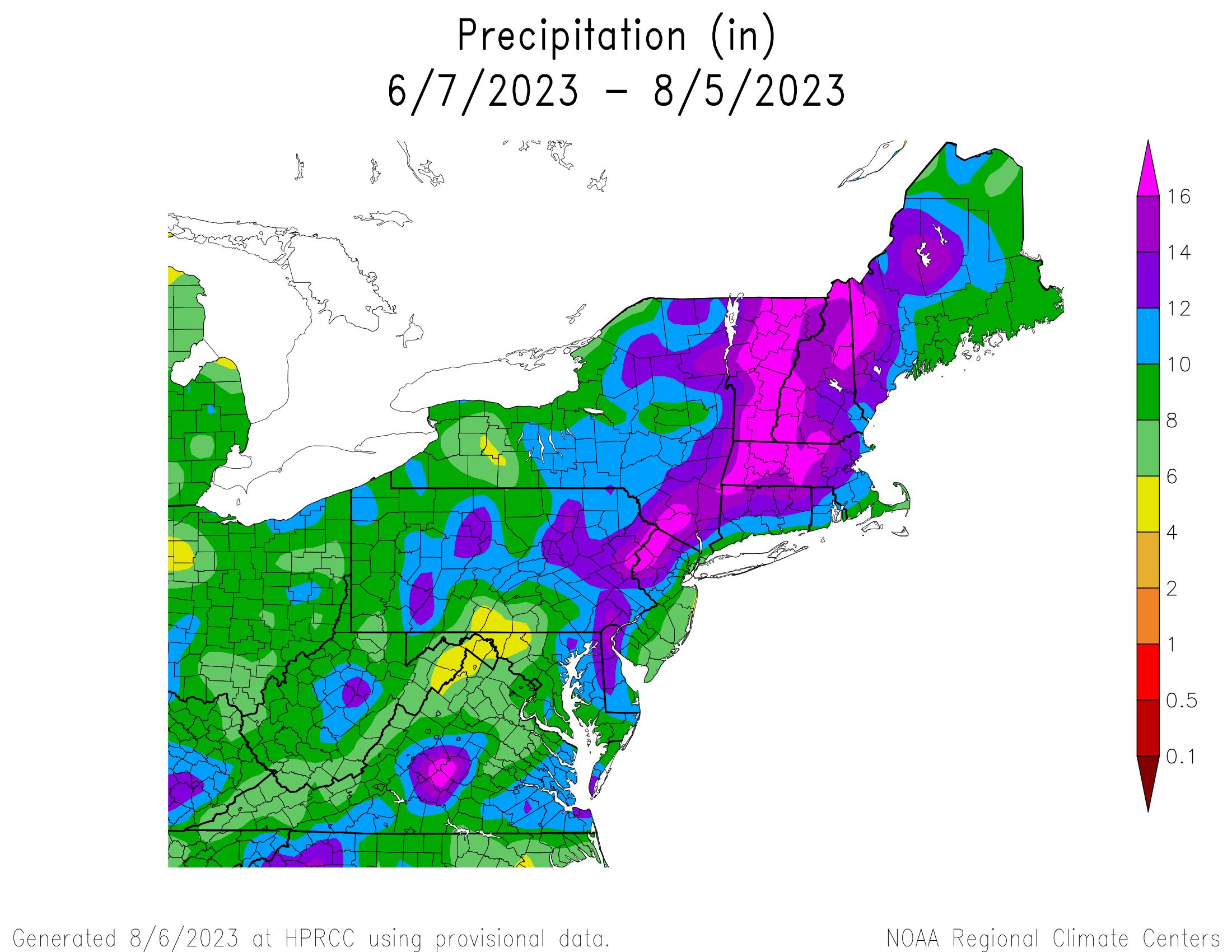60-Day Total Precipitation