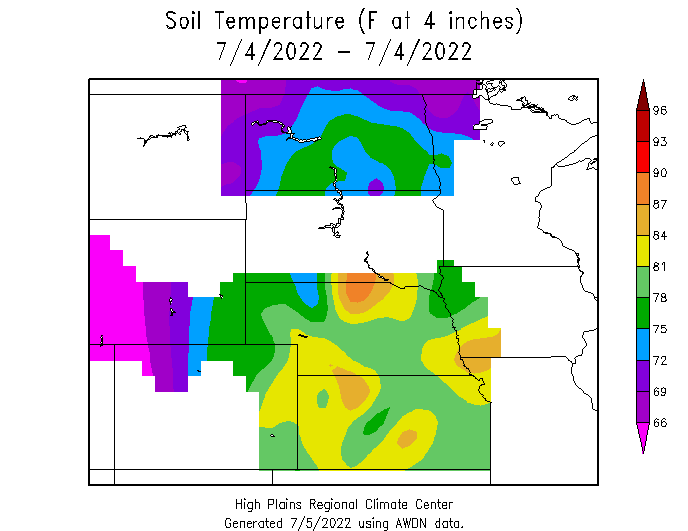 Soil temperatures and planting midwest labs for Soil temperature